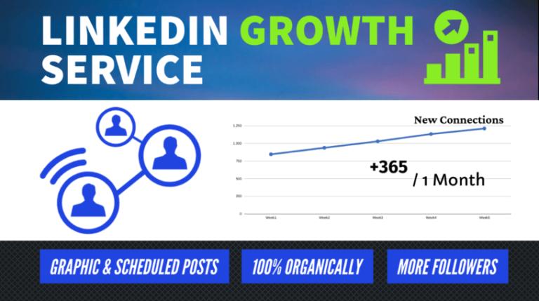 linkedin growth service